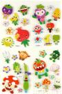 Cartoon Stickers/Puffy Stickers