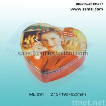 contenitore a forma di di cioccolato del contenitore di confetteria della scatola del cuore