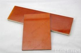 フェノールの布によって薄板にされるシート