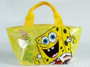New Cute Sponge Bob Lunch Bag Handbag Tote Gift 006295