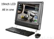 computer all in one with tv function 19 inch (PT19AS),all in one lcd pc tv
