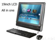 all in one computers with tv function 19 inch (PT19BS),all in one lcd pc tv