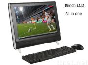 all in one pc with tv function 19 inch (PT19CS),all in one lcd pc tv