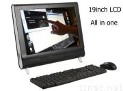 19 inch all in one pc tv function (PT19DS),all in one lcd pc tv