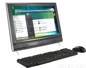 all in one computer with tv function 22 inch (PT22BS), all in one lcd pc tv