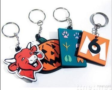 Soft PVC Keychains, Flexiable Keychains, Keychains Info