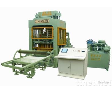 automatic concrete block machine FZQT 6-18