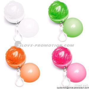 Color Ball Rain Poncho