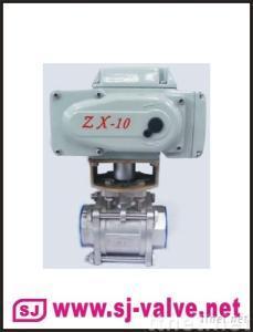 3pc electric ball valve,3pc ball valve,electric ball valve