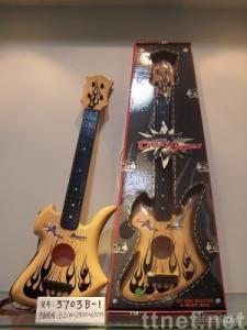 classical toy guitar, guitar, simulated guitar, toy guitar,
