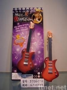 Mini toy guitar, novel toy, mini simulated guitar, mini wireless guitar,