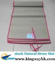 overstock van het voorraad closeout stocklot surplus de Natuurlijke Mat van het Stro