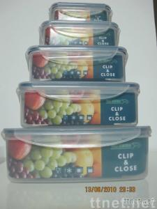 Retangle Airtight Food Container Set