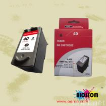 pg 40 ink cartridge for Canonink cartridge, inkjet ink cartridge, ink cartridges, printer ink cartridges, recycle ink