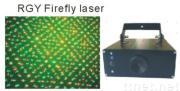 130mW,150mW,200mw,300mW mini RGY Firefly laser light with small DMX stage laser light projector