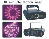 80mW,100mw,160mW,200mW Blue-Purple 405nm Cartoon laser light with ILDA interface,DMX laser display stage projector