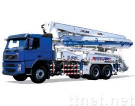 De Vrachtwagen van de concrete Pomp
