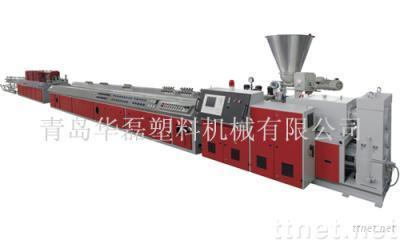 PVC, PE, PP Wood-Plastic Profiled Material Production Line