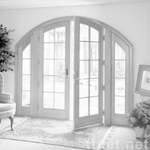 Aluminium opening door