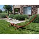 Arc Cypress Hammock With Cotton Hammock