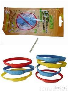 Silicone mosquito repellent wristband