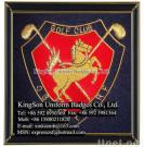 Golf Club Badges, Bullion Wire Embroidered Badges