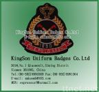 U.S.POLO badge-Bullion wire embroidery badge