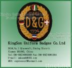D&G Badge - Bullion wire badge,hand embroidery