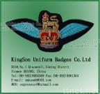 Air wings,Army badge,Bullion wire badge