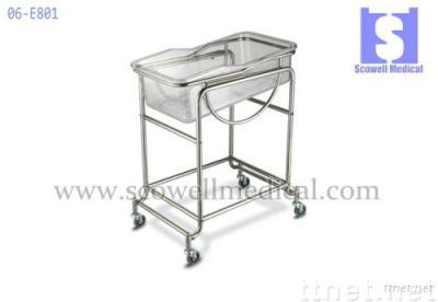 Stainless Steel Baby Care Trolley