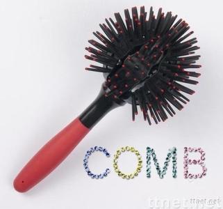 Unique Ball Plastic Hair Comb