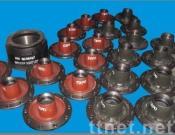 Brake Drum And Wheel Hub For BPW
