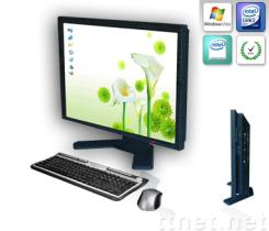 15'' all in one lcd pc tv,touch pc