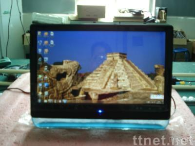 18.5 multi-touch pc  all in one lcd pc tv