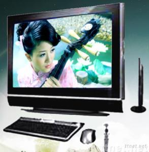 52/65 inch LCD All-In-One PC & TV