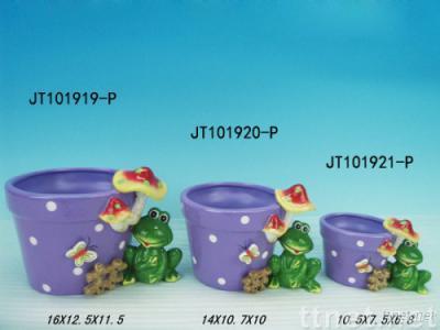 Ceramic flower planter , garden pot