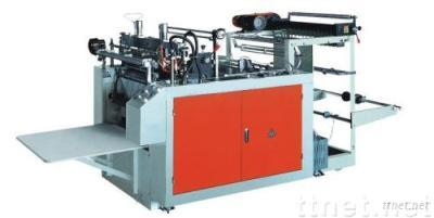 heat sealing and heat cutting bag making machine