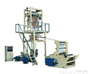 SJ-B Elevator rotary head PE film blowing machine