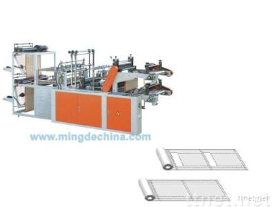 Computer control high speed vest and flat rolling bag making machine (double layer)