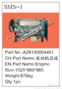 Howo Truck Parts-Engine