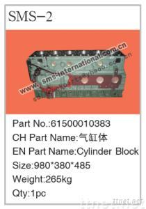 Howo Truck Parts-Cylinder Block