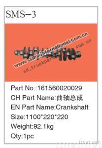Howo Truck Parts-Crankshaft