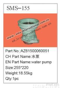 howo truck parts-WATER PUMP AZ61500060051