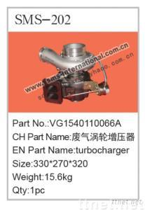 Howo Truck Parts-turbocharger VG1540110066A