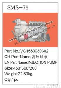 howo truck parts-injection pump VG1560080302