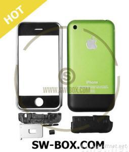 iPhone 2G Complete Set Housing Faceplate Cover - Green