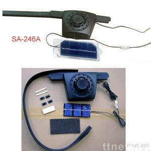 Remote-array Solar Car Power Vents