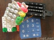 POS Terminal Keypad, silicone conductive keypad