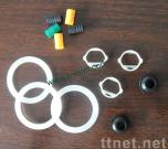 Silicone rubber rings&gaskets, rubber components