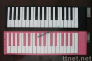 Silicone electric piano keyboard, piano rubber keypad